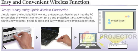 epson quick wireless connection usb key manual