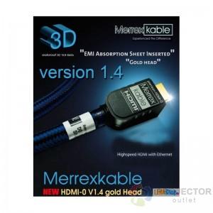 Merrex HDMI-0 Anniversary V1.4 (1.2m)