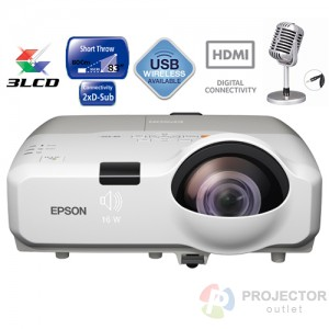 EPSON EB-535W (Short Throw)